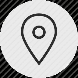 find, gps, look, nav, navigation icon
