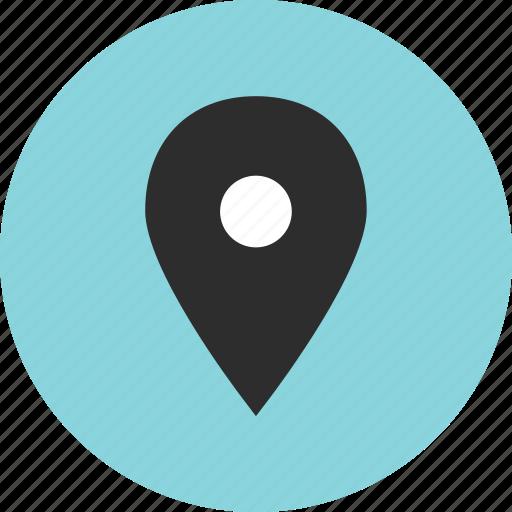 gps, locate, nav, navigation icon
