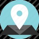 google, gps, mapquest, nav, navigation icon