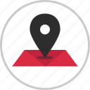 direction, google, locaiton, map, pin icon