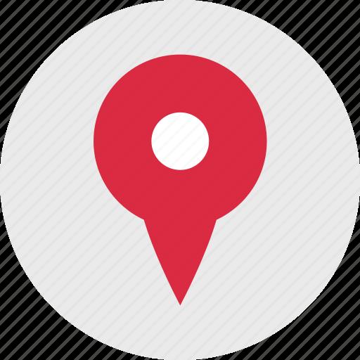 gps, locate, nav, navigation, pin icon