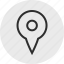 gps, nav, navigation, pin, search icon