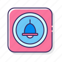 alarm, bell, call, ring icon