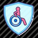 disability, insurance, safety, shield