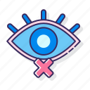 blind, eye, impaired, visually