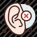 disability, funding, handicap, hearing, injured icon