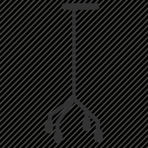 cane, hospital, medical, medical equipment, walking stick icon