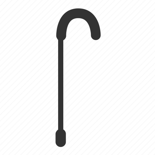 cane, medical, medical equipment, tool, walking stick icon