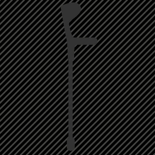 crutch, health, medical, medical equipment, walking stick icon