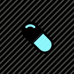 doctor, health, medicine, pill icon