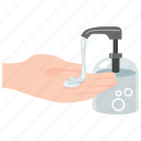 clean, hand, hygiene, hygienic, product, sanitizer icon