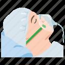 hospital, life support, medical, oxygen, ventilation, ventilator icon