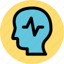 brain, epilepsy, head, thinking icon