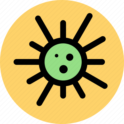 bacteria, health, healthy, infection, influenza, medical, virus icon