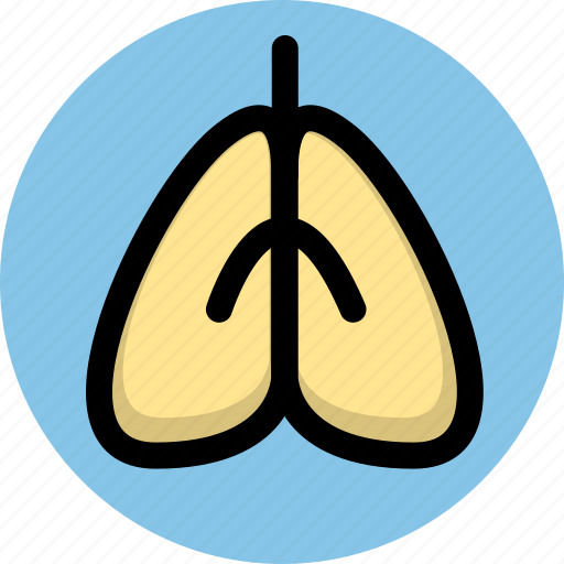 cancer, health, lung icon