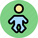 infant, newborn, pediatrics icon