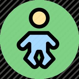 infant, newborn, pediatrics icon