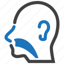 ear, nose, orl, otolaryngology, throat icon