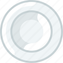 cooking, deep plate, dishes, eating, kitchen, plate, yumminky icon