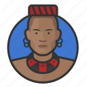 african, avatar, avatars, king, man, traditional, tribal icon