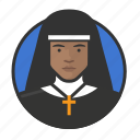 avatar, avatars, catholic, nun, sister icon