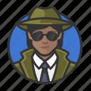 african, avatar, avatars, detective, investigator, private eye, woman