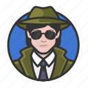 avatar, detective, private eye, woman, investigator, avatars