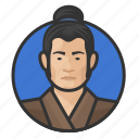 avatar, avatars, japanese, man, traditional icon