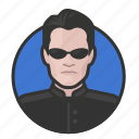 avatar, avatars, man, matrix, neo icon