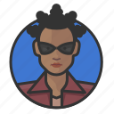 african, avatar, avatars, matrix, niobe, woman icon