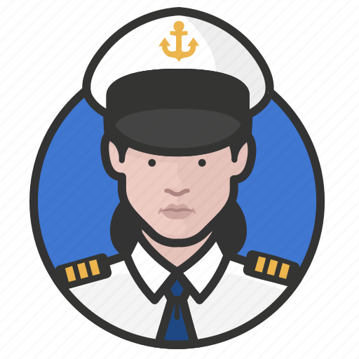 avatar, avatars, military, navy, uniform, woman icon