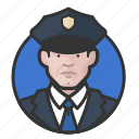 avatar, avatars, cop, man, police icon
