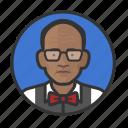 african, avatar, avatars, grandfather, man, old man, professor icon