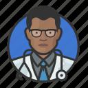 african, avatar, avatars, doctor, man, physician, surgeon