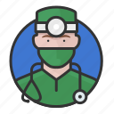 avatar, avatars, doctor, man, physician, surgeon icon
