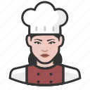 avatar, avatars, chef, cook, food, kitchen, woman icon