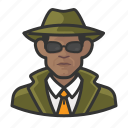 african, avatar, avatars, detective, man, private eye