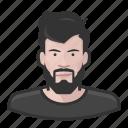 avatar, avatars, beard, hipster, man