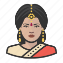 avatar, hindu, woman, avatars, saree, indian