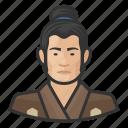 avatar, avatars, japanese, man, traditional icon