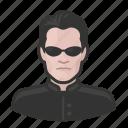 avatar, avatars, man, matrix, neo icon