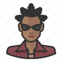 avatar, avatars, female, matrix, niobe, woman icon