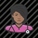 african, avatar, avatars, healthcare, medicine, nurse, woman