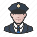 avatar, avatars, cop, law enforcement, man, officer, police icon