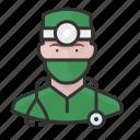 avatar, avatars, doctor, man, physician, surgeon icon