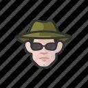 avatar, avatars, detective, investigator, man, secret agent
