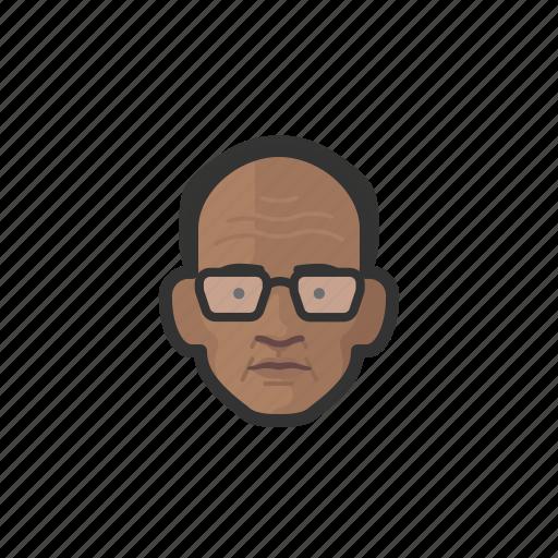 african, avatar, avatars, man, old man, professor icon