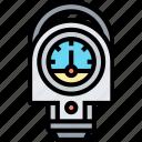 gauge, measure, pressure, indicator, device