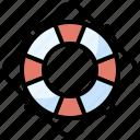floating, help, lifebuoy, lifeguard, lifesaver, security icon