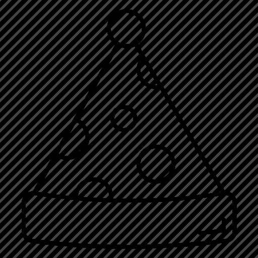 beanie, cap, cloth, pompom, winter icon